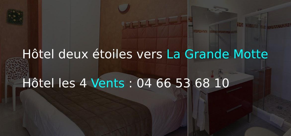 Hôtel deux étoiles vers La Grande Motte